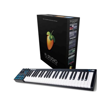 alesis v49 usb pad keyboard controller with fl studio 20 producer edition for windows. Black Bedroom Furniture Sets. Home Design Ideas