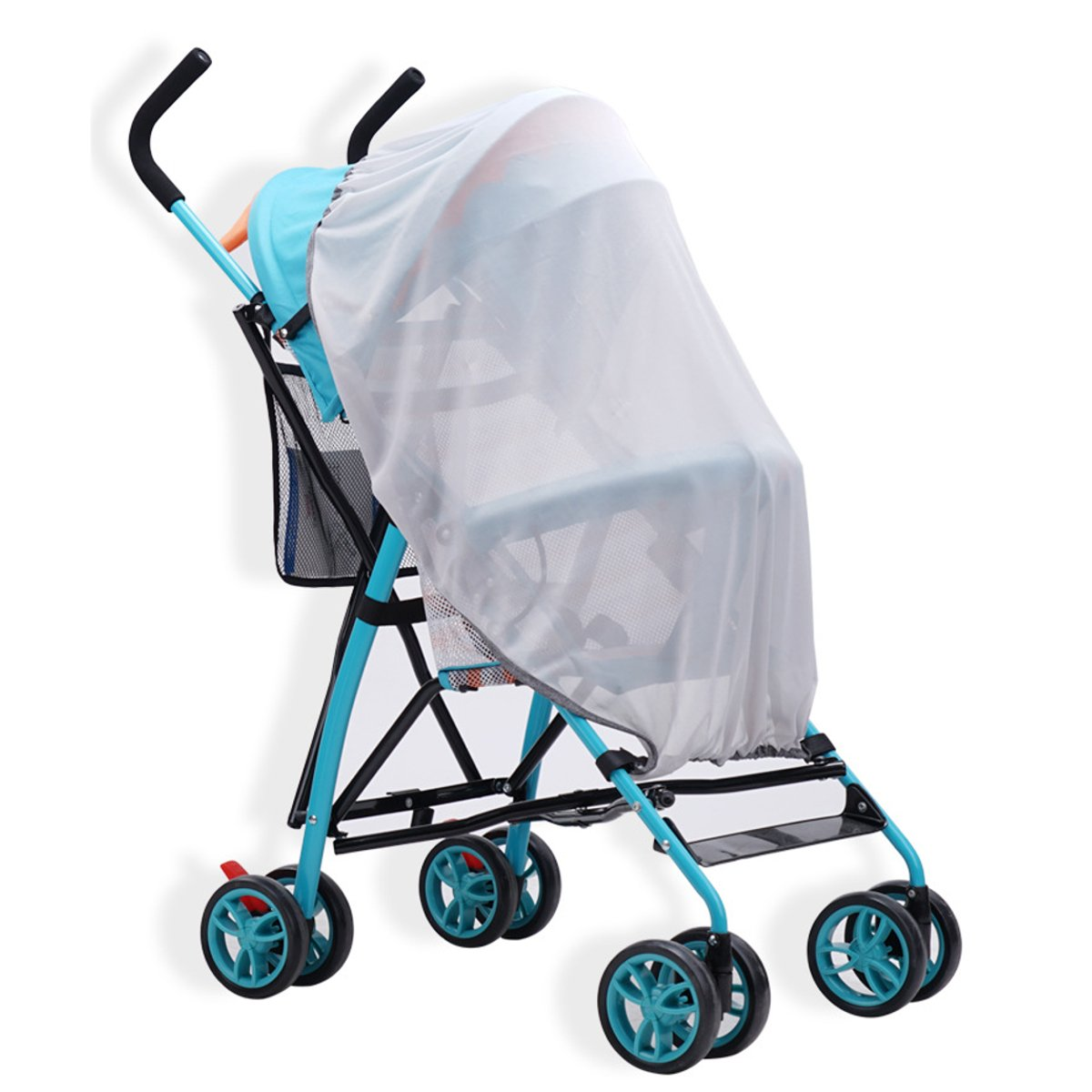 Stroller Mosquito Net Bug Baby Cover Jogger Stroller Protect insect Machine wash