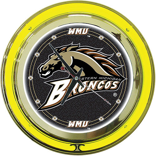 "Western Michigan University 14"" Neon Wall Clock"