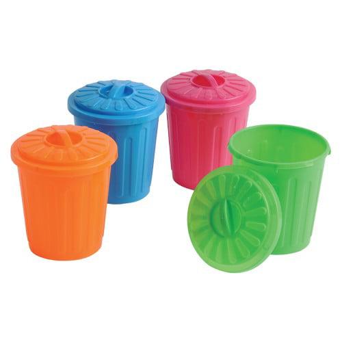 Us Toy 3527 Mini Garbage Cans Walmartcom