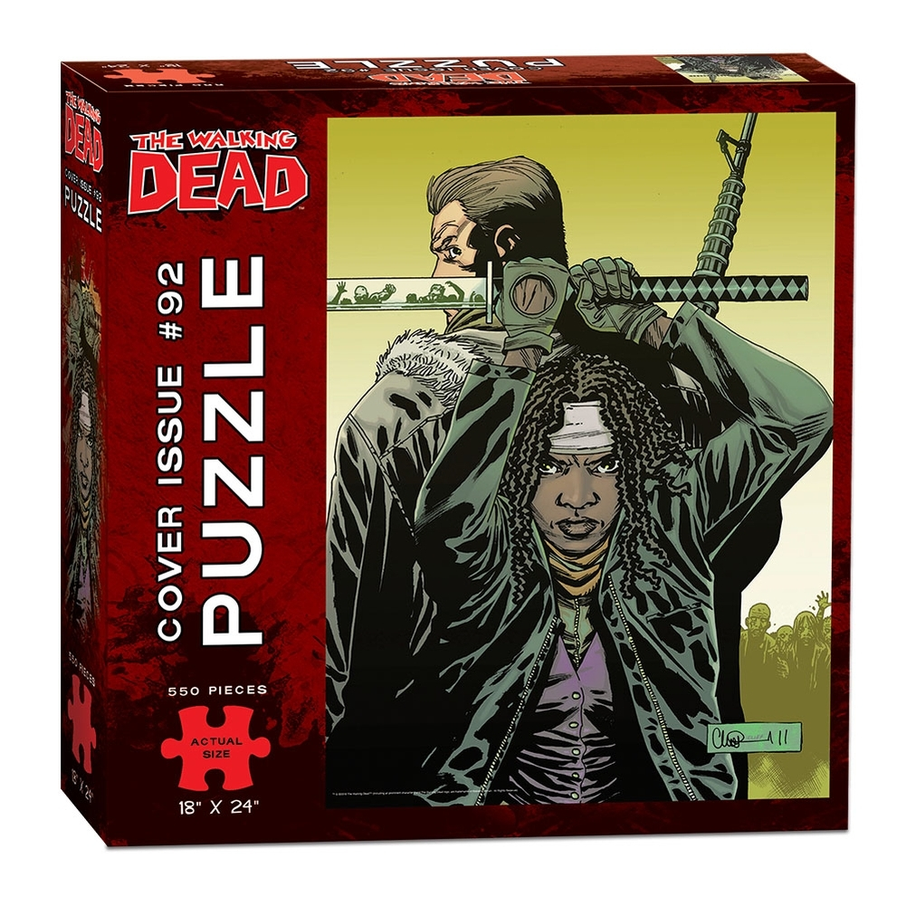 Walking Dead Comic Issue 92 550 Piece Puzzle