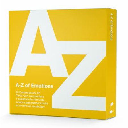 The A-Z of Emotions (Emotional Learning Cards) (Card Book)