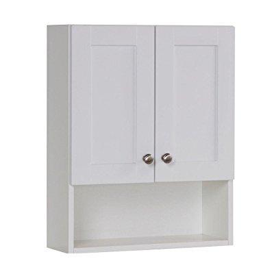 Ordinaire ... Glacier Bay Over Toilet Storage Cabinet In White