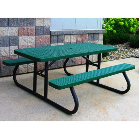 rectangle commercial picnic table - Commercial Picnic Tables