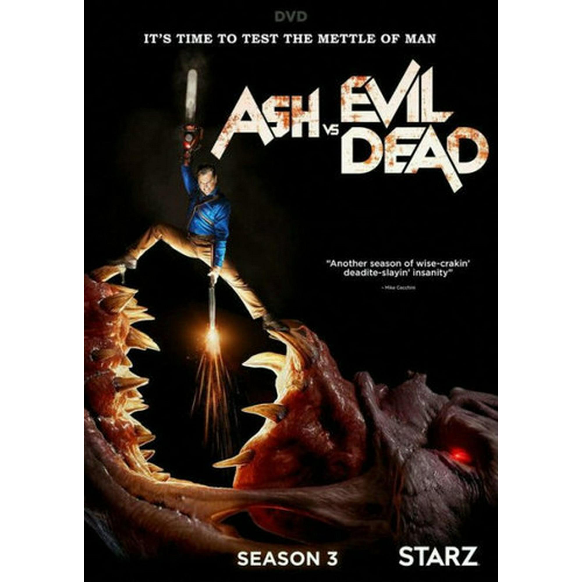 Ash Vs Evil Dead Season 3 Dvd Walmart Canada