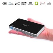 Mini Projector, Cocar C800S Wireless DLP Pico Mobile Android Operation System High Lumens