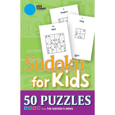 Usa Today Sudoku For Kids  50 Puzzles From The Nations News