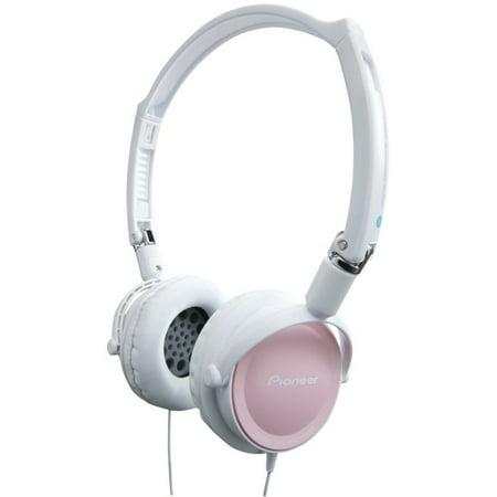 Pioneer On-Ear DJ-Inspired Stereo Headphones - 40mm Driver - Foldable SE-MJ21-PK