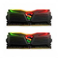GeIL SUPER LUCE RGB SYNC 16GB (2 x 8GB) PC4-24000 3000MHz DDR4 288-Pin Desktop Memory (GLS416GB3000C16ADC)