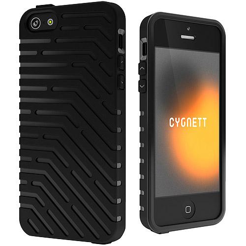 Cygnett iPhone 5/5SE/5s Black Vector TPU Case