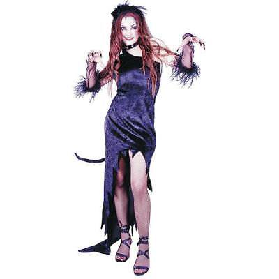 IN-13589710 Cat Magic Black Dress Halloween Costume for Women WOMAN - Quick Halloween Costume Ideas For Work