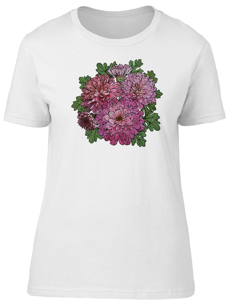 d26883e472f26 Beautiful Pink Vintage Flowers Tee Women s -Image by Shutterstock ...
