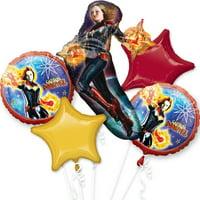 Captain Marvel Balloon Bouquet