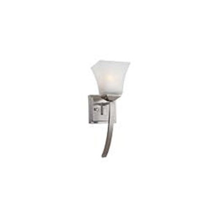 Torino 1-Light Extended Wall Sconce, Satin Nickel Finish ()