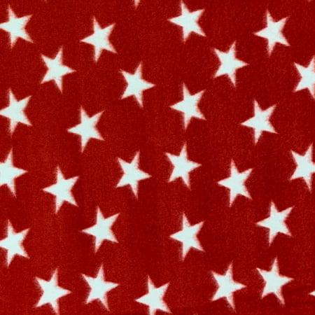Shason Textile, Patriotic Stars Anti-Pill Fleece, 72