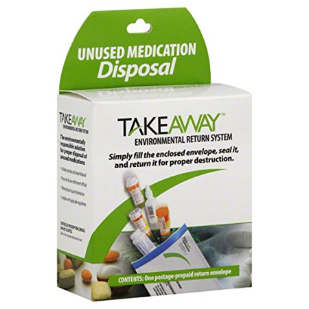Takeaway Environmental Return System 11  X 8  Envelope  Usps   A Usps Solution  8X11 Envelope   Is A Unique  Proven Method For Unused Medication Disposal From The    By Sharps Compliance  Inc