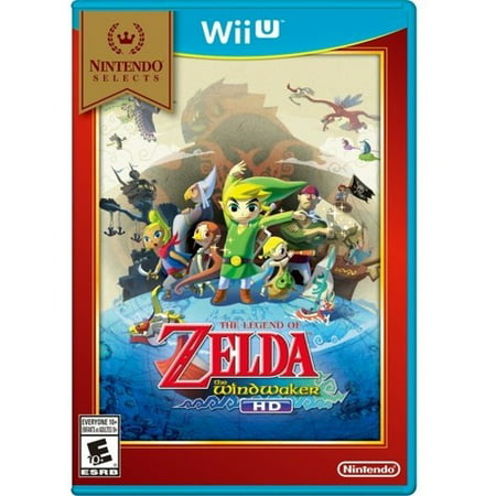 The Legend of Zelda: Wind Waker (Nintendo Selects), Nintendo, Nintendo Wii U, 045496904425 ()