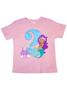 cf8c1fb901a2 Product Image Second Birthday Mermaid Toddler T-Shirt