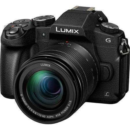 Panasonic Lumix DMC-G85 4K Wi-Fi Digital Camera + 12-60mm Lens