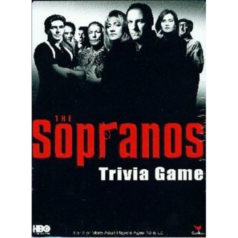 Cardinal Industries Sopranos Trivia in a Box Board Game by Cardinal Industries by