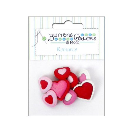 - Buttons Galore Theme Romance Heart To Heart