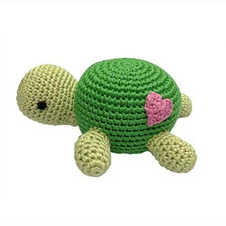 Organic Baby Rattle Turtle](Turtle Baby)
