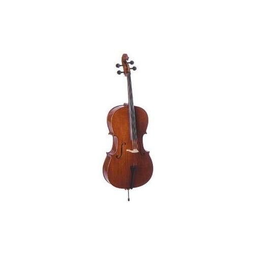 Palatino Dolce Flamed Solidwood Ebony Cello W Gigbag Bow 4 4 VC-850 by Palatino