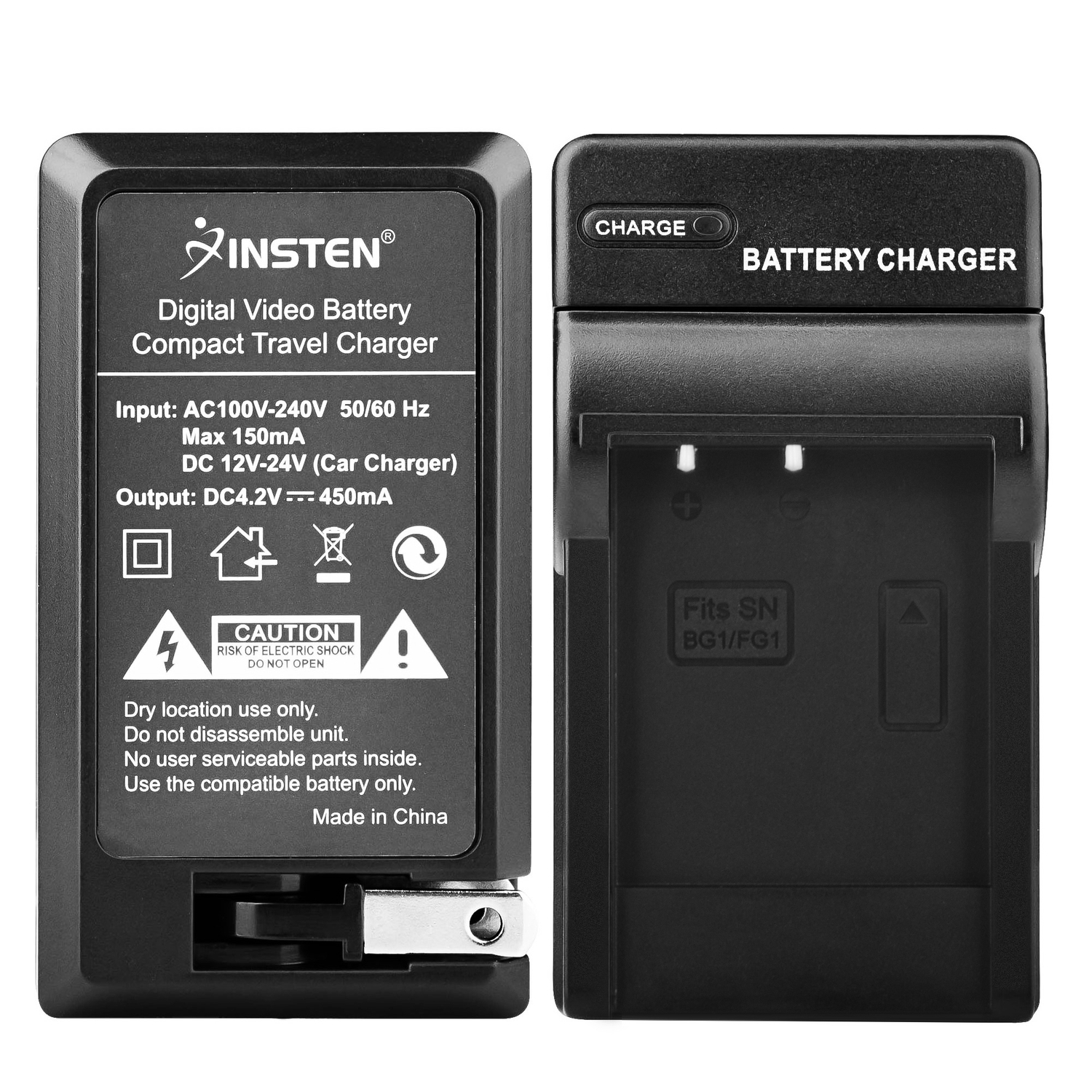 Insten Car Ac Wall Travel Charger Np Bg1 G Type Lithium Ion Battery Sony For Cybershot Dsc W80 W30 W55 W290 W300 H10 H20 H50 H55 H70 H90 H3 H7 H9