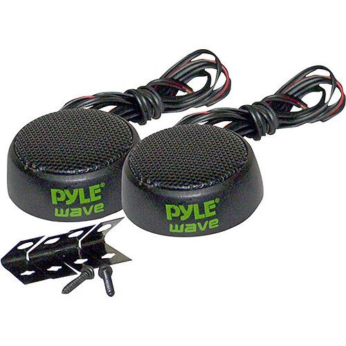 "Pyle PLWT3 Wave Series 1"" 120W Mini Mylar Dome Tri-Mount Tweeter"