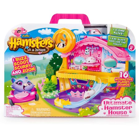 Hamsters In A House Ultimate House Playset, (Hamsters In A House Playset Ultimate House)