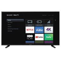 Walmart.com deals on Sharp 58Q7330U 58-Inch 4K UHD Roku Smart LED TV