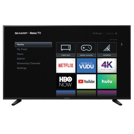 "Sharp 58"" Class 4K Ultra HD (2160P) HDR Roku Smart LED TV (58Q7330U)"