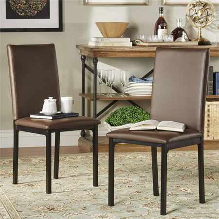 Chelsea Lane Side Chair with Metal Legs, Set of 2, Multiple (Chelsea Chair Set)