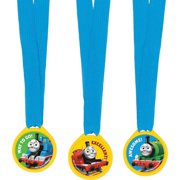 Thomas The Train Award Medal Ribbons - Party Favors - 12 per Pack By SmileMakers Inc