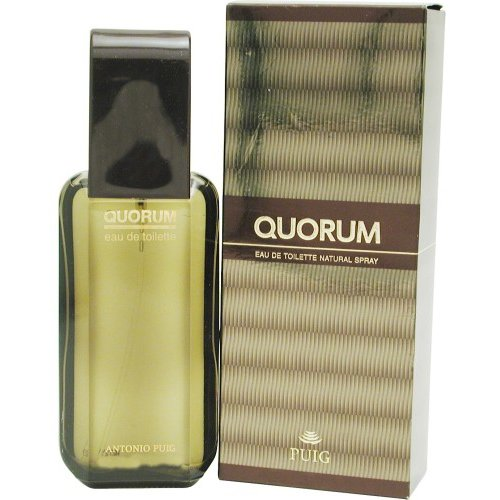 Quorum 3.4 oz Eau de Toilette Spray for Men by Elizabeth Arden