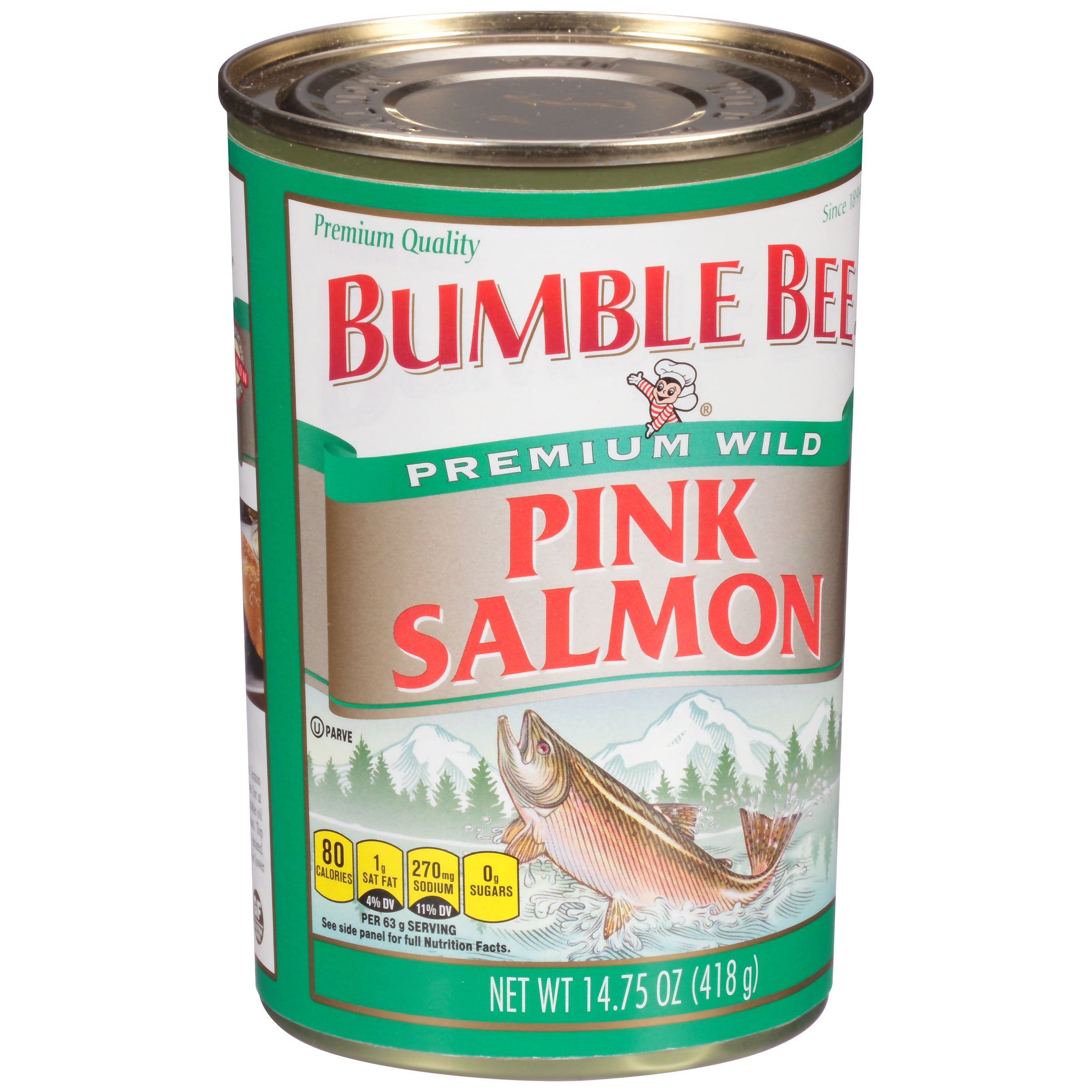 Bumble Bee Wild Pink Salmon, 14.75oz can by Bumble Bee Foods