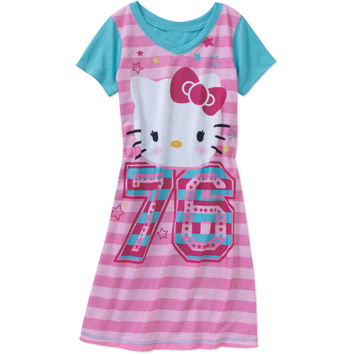 Hello Kitty Girls' 76 Nightgown