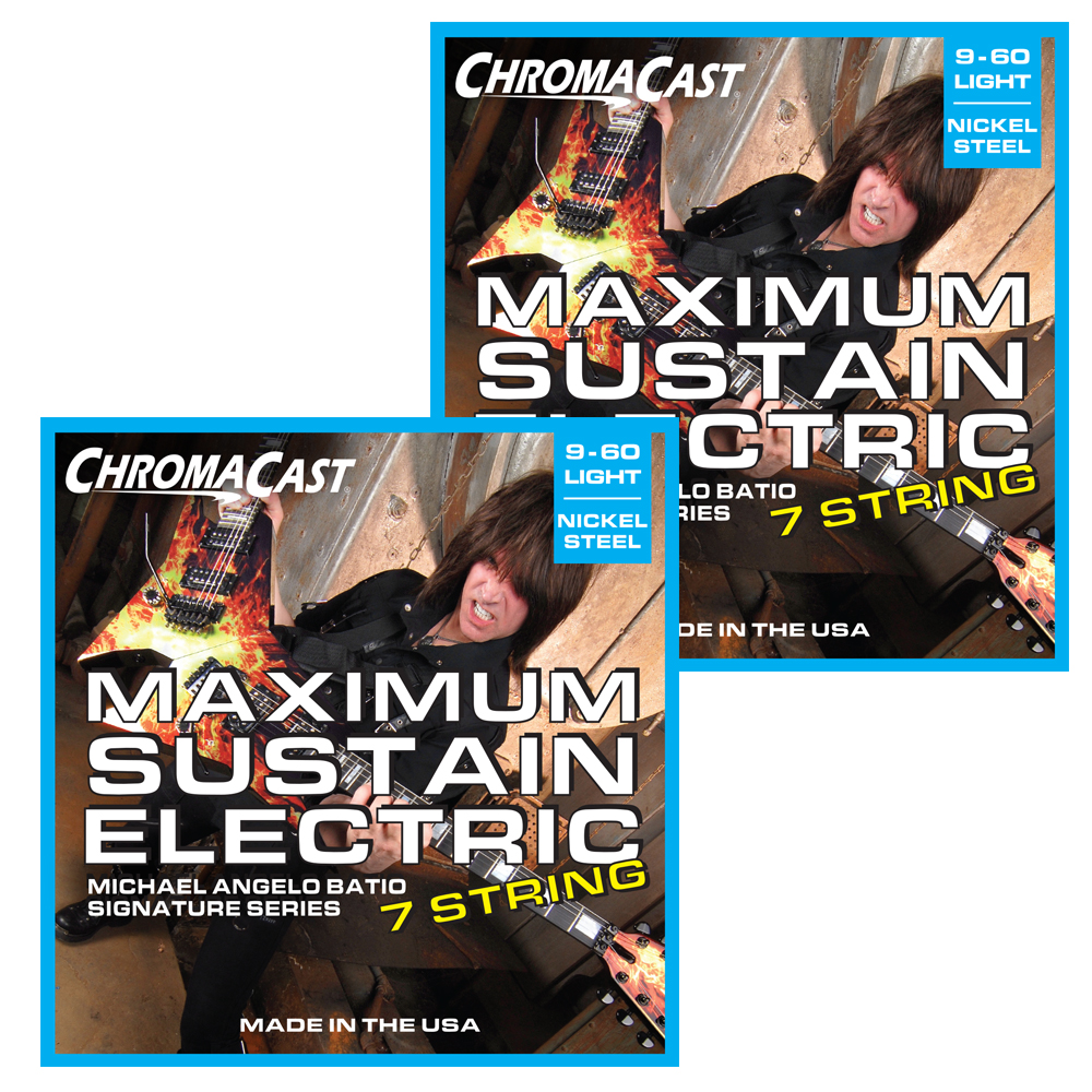 ChromaCast Michael Angelo Batio Signature Series Maximum Sustain 7 String Electric Guitar... by ChromaCast