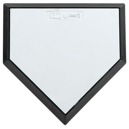 Schutt Hollywood Home Plate - Schutt Bury All Hollywood-Style Home Plate (White)