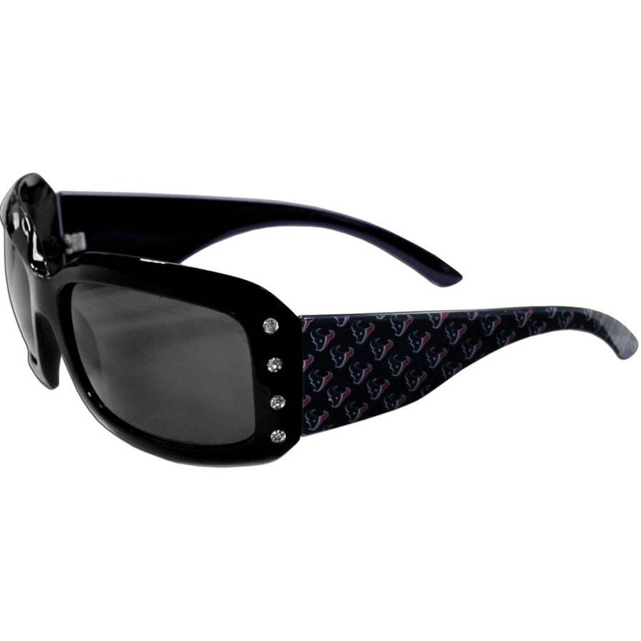NFL Houston Texans Women's Designer Sunglasses with Rhinestones