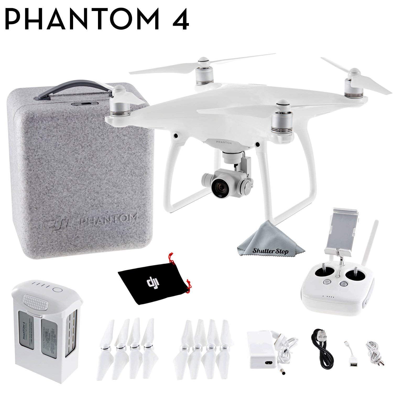 DJI Phantom 4 Quadcopter 4K video 12mp Camera Drone by DJI