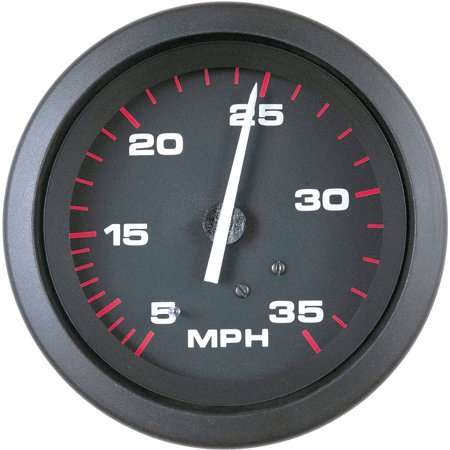 SeaStar Solutions Amega 35-MPH Pitot-Type Speedometer Kit (Boat Speedometer)