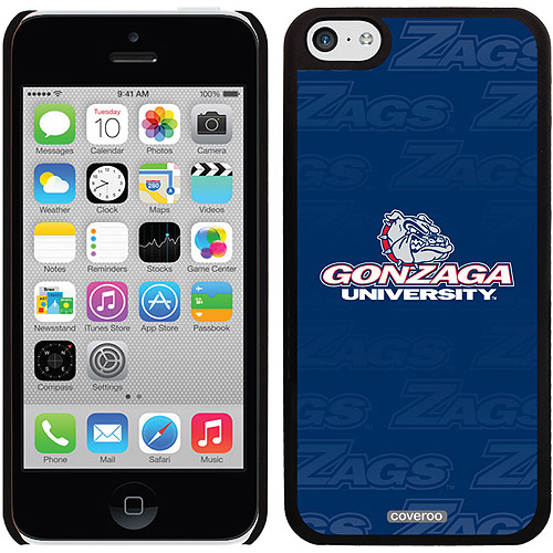 Gonzaga University Repeating Design on iPhone 5c Thinshield Snap-On Case by Coveroo
