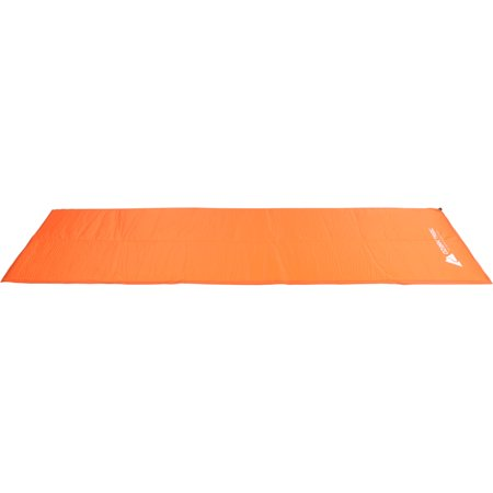 Self Inflating Camp Pad (Ozark Trail Lightweight Insulated Self-Inflating Air Pad, Orange)