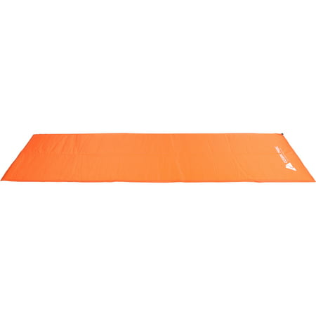 Ozark Trail Lightweight Insulated Self-Inflating Air Pad, Orange