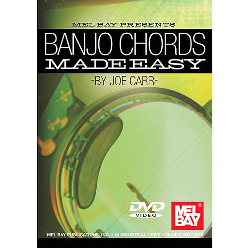 Banjo Chords Made Easy: By Joe Carr by