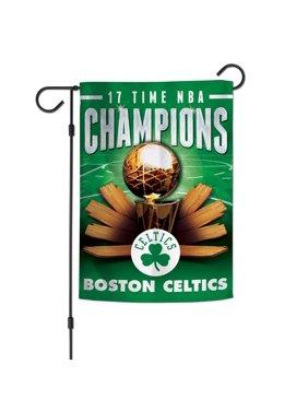 "Boston Celtics WinCraft 12"" x 18"" Championship Years Double-Sided Garden Flag"