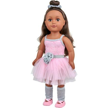 "My Life As 18"" Poseable Ballerina Doll, African American"
