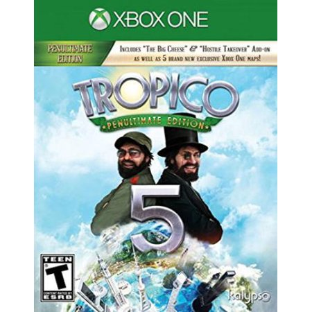 Tropico 5 Penultimate Edition, Kalypso Media USA, Xbox One, (Collective Minds Xbox One Media Hub Review)