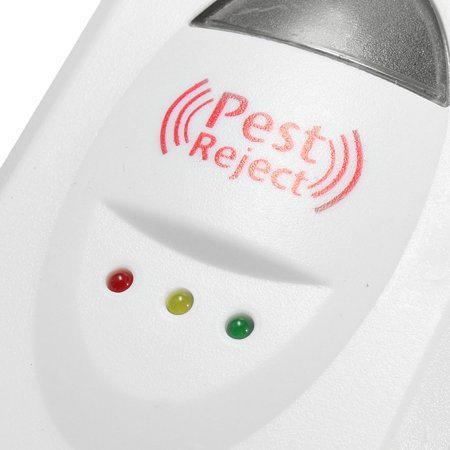 Ultrasonic Electronic Pest Repeller Control Mosquito Bug Rat Spider Cockroach Rodent Mouse Reject Repellent - image 6 of 10